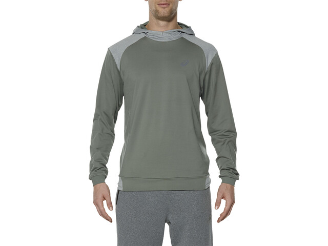 utterly stylish bright in luster new authentic asics Thermopolis Hoodie Men eucalyptus
